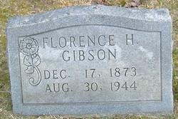 Florence Elizabeth <i>Harper</i> Gibson