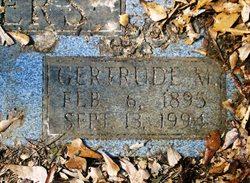 Gertrude <i>Martin</i> Sanders