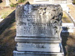 Frances <i>Riley</i> Caldwell