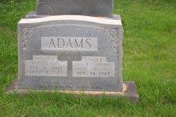Margaret Hettie <i>Headrick</i> Adams