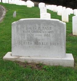 Bertha <i>Runkle</i> Bash