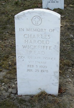 Col Charles Harold <i>Wickfiffe</i> Read