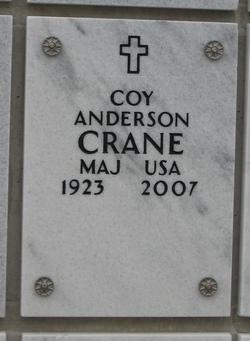 Coy A. Crane