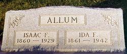 Ida Florence <i>Smith</i> Allum