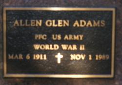 Allen Glen Adams