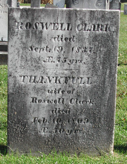 Pvt Roswell Clark