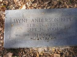 Jayne Anderson Bell