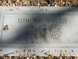 Effie Mae Barnett