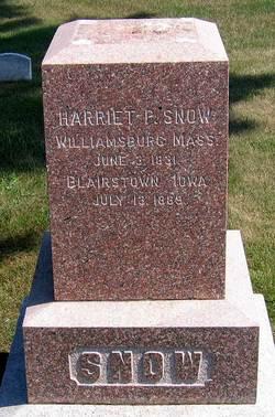 Harriet P. <i>Dwight</i> Snow