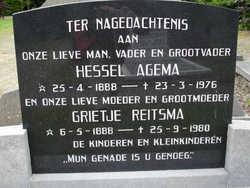 Grietje Klazes <i>Reitsma</i> Agema
