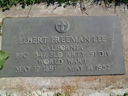 Elbert Freeman Lee