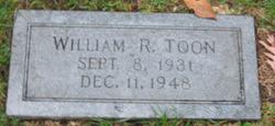 William R Toon
