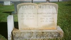 Martha Patsy <i>Johnson</i> Tallant