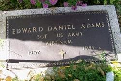 Edward Daniel Adams