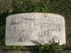 Rebecca <i>Scott</i> Powell