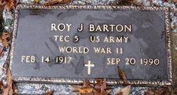 Roy J Barton