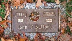 John F Bullock