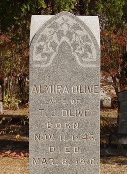Almira J. <i>Gardner</i> Olive