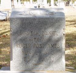 Jessie H. <i>Daniel</i> Ames