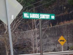 Will Sanders Cemetery