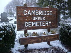 Cambridge Upper Cemetery (Yankee Hill)
