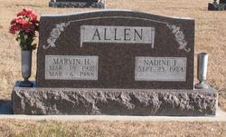Marvin Harlan Allen