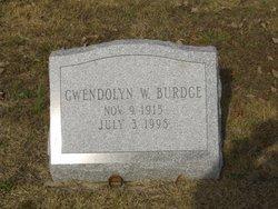Gwendolyn W Burdge