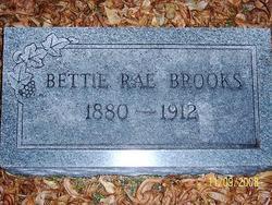 Sarah E. Bettie <i>Rae</i> Brooks