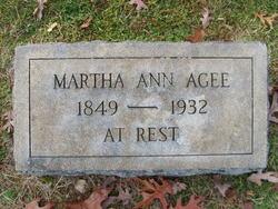 Martha Ann Agee