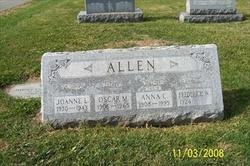 Oscar M Allen