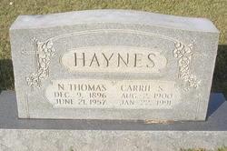 Carrie <i>Shea</i> Haynes