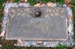 Jane E Bender
