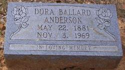 Dora <i>Ballard</i> Anderson