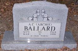 A C <i>'Archie'</i> Ballard