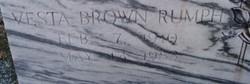 Vesta <i>Brown</i> Rumph