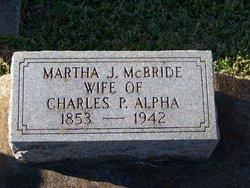 Martha J. <i>McBride</i> Alpha