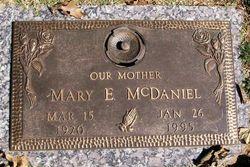 Mary Elizabeth <i>Smith</i> McDaniel