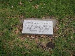 David A Andersen