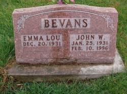 Emma Lou Bevans