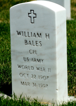 Corp William Henry Bales