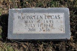 William Orten Lucas