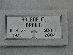 Arlene M. Brown