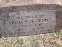 Velda Mae <i>Edmonds</i> Brown