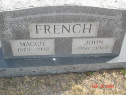 Maggie <i>Moore</i> French
