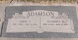 Delzina Louise <i>Pennington</i> Adamson