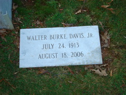 Walter Burke Davis, Jr