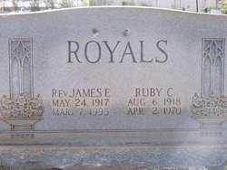 Rev James Edward Royals