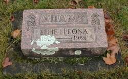 Effie Leona <i>Cox</i> Adams