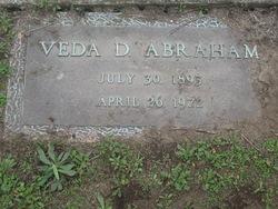 Veda D <i>Whitaker</i> Abraham