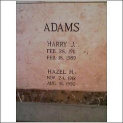 Hazel Estelle <i>Huff</i> Adams